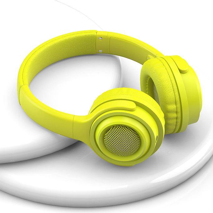 EZRA BH03 Желтые наушники большие - гарнитура