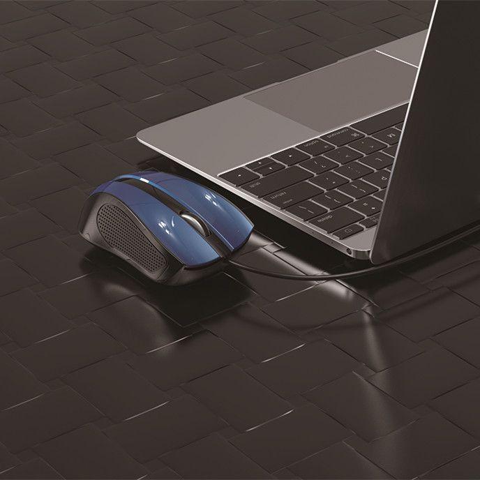 EZRA AM02 мышь проводная (USB, 1000 dpi, оптическая, 2 кнопки)