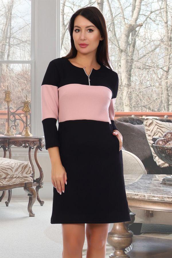 Купить Платье Филадельфия [черный] в интернет-магазине Ивановский текстиль