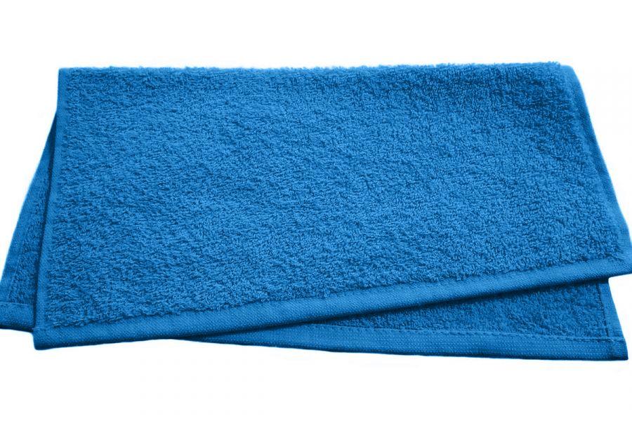 Полотенце махровое однотонное Светофор 40*70 [синий]