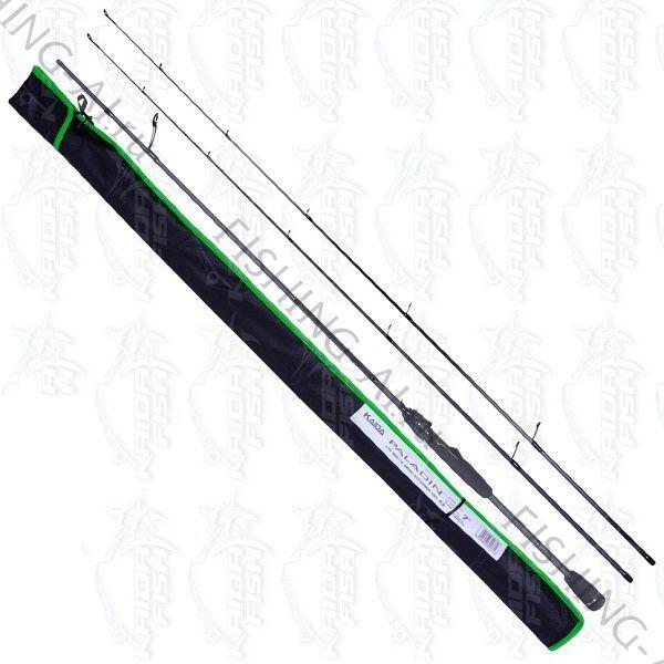 Cпиннинг Kaida Paladin 2.40 м тест 3-15 и 4-21 гр