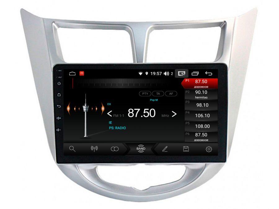 Магнитола для Hyundai Solaris (2011-2016) 09HL
