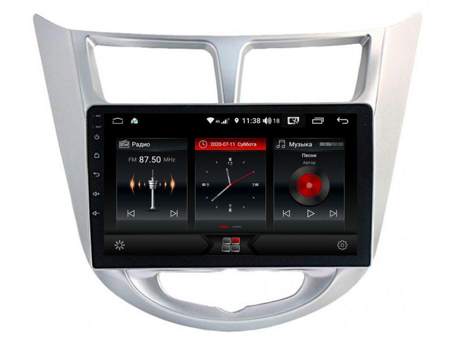 Магнитола для Hyundai Solaris (2011-2016) 09HG