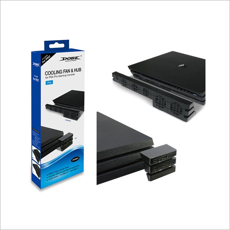 Dobe Система охлаждения Cooling Fan & Hub Kit для PlayStation 4 Pro (TP4-894)