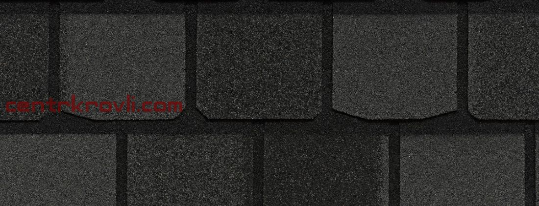 Гибкая черепица Certain Teed/Highland Slate/Black granite