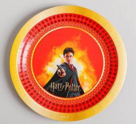Тарелка бумажная «Гарри Поттер», набор 6 шт., 18 см