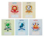 Тетрадь 12 листов в клетку «Гарри Поттер», обложка мелованный картон