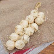 Связка чеснока 40 см 12 головок (муляж)