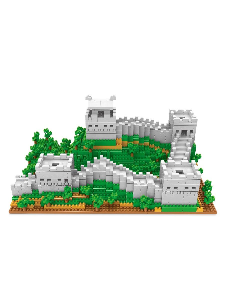 Конструктор Wisehawk & LNO Великая китайская стена 1719 деталей NO. 2468 Great Wall Gift Series