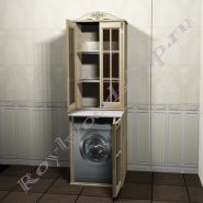 """Тумба и шкаф для стиральной машины """"Глазго-67 береза"""""""