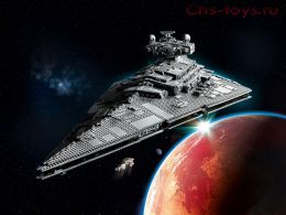 Конструктор LARI Star Wars Имперский звёздный разрушитель 11447 (Аналог LEGO Star Wars 75252) 4796 дет