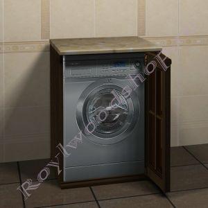 """Тумба  для стиральной машины """"Глазго-67 орех"""""""