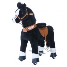 Поницикл средний «Лошадка» черная озвученная