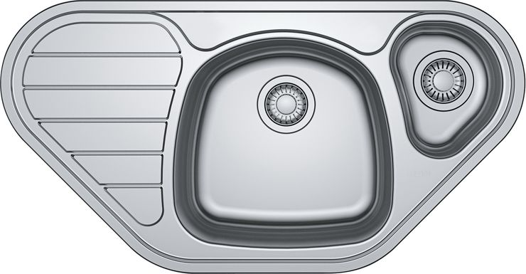 Врезная кухонная мойка FRANKE SKX 651 E 100х50см нержавейка 101.0455.945