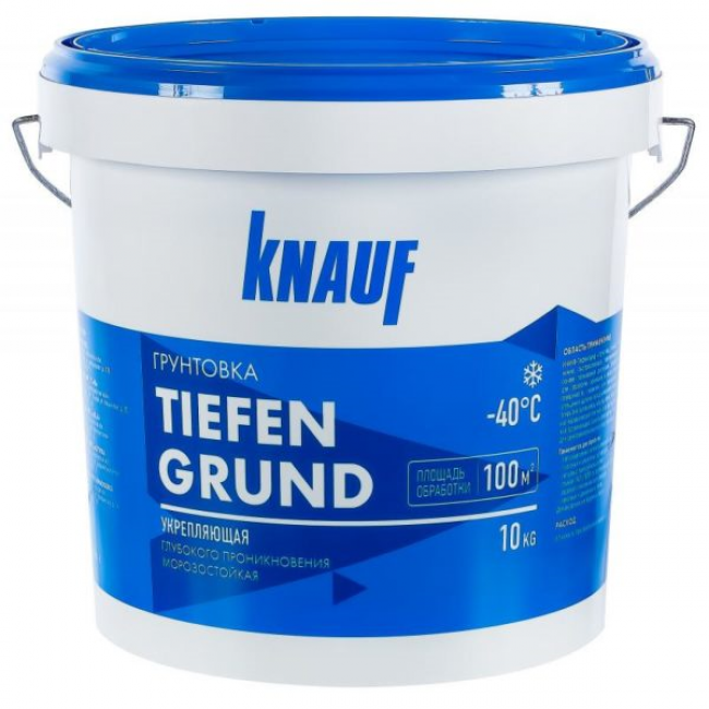 Грунтовка Knauf Тифенгрунд глубокого проникновения 10кг