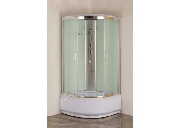Душевая кабина Aquanet SC-1000Q 1000x1000, рифленое стекло