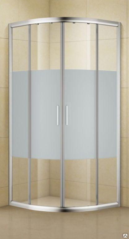 Душевой уголок Aquanet Practic AE10-Q-90x90U-CP 900x900, прозрачное, матовое стекло