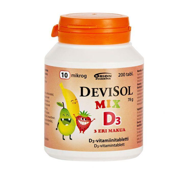 DEVISOL MIX D3 200 ШТ