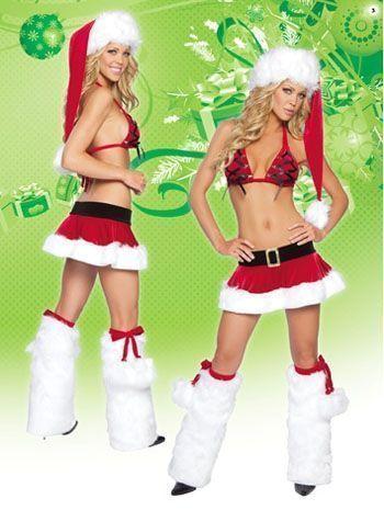 Секси костюм Рождественской Санты