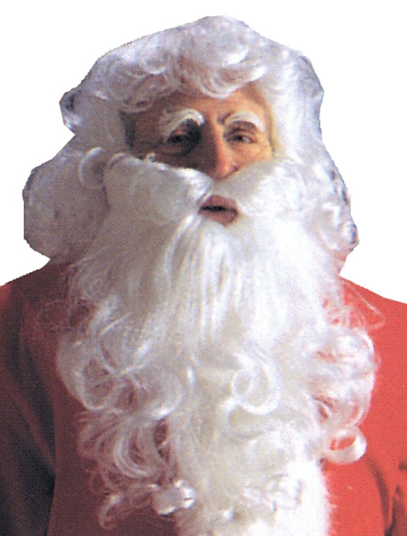 Парик и борода Санта Клауса