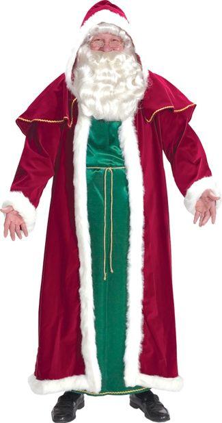 Викторианский костюм Санты