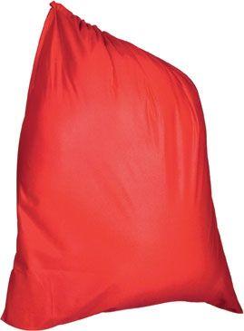 Велюровый мешок для Санты