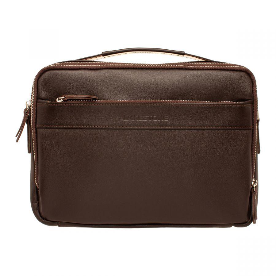 Мужская деловая сумка Lakestone Anhor Brown