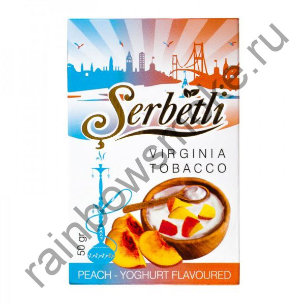Serbetli 50 гр - Peach-Yogurt (Персик с Йогуртом)