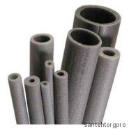 Трубка вспененный полиэтилен НПЭ Т 28/9 L=2м серый Энергофлекс