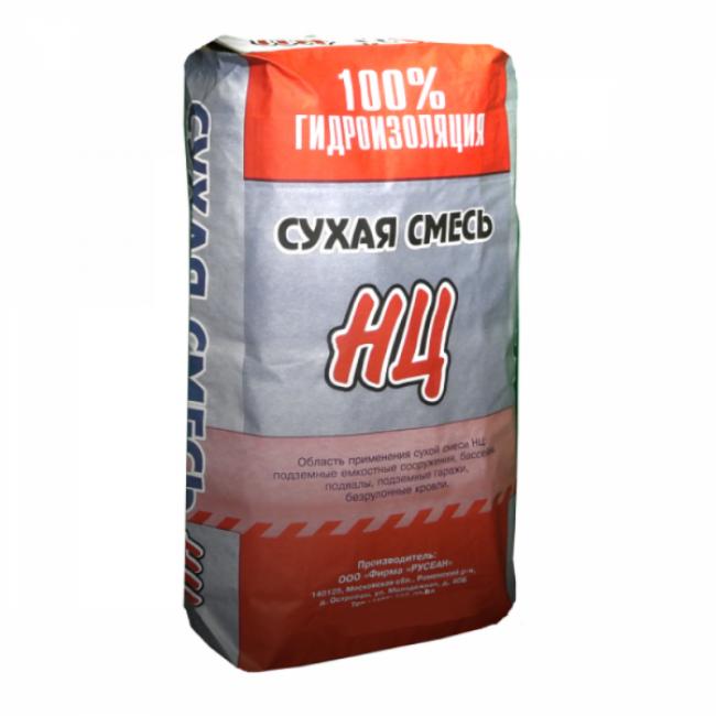 Сухая смесь НЦ Русеан 25кг