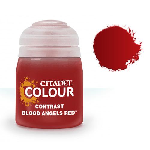 Контрастная краска Blood Angels Red 29-12
