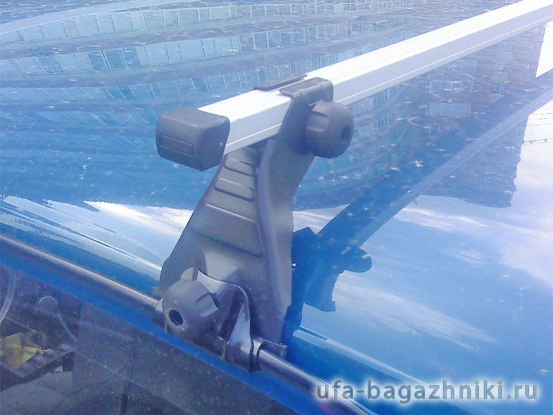 Багажник на крышу на Nissan Patrol 1998-2010, Атлант - алюминиевые дуги