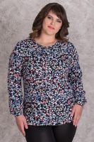 Блуза женская арт.0143-02 коралловая, масло с начесом