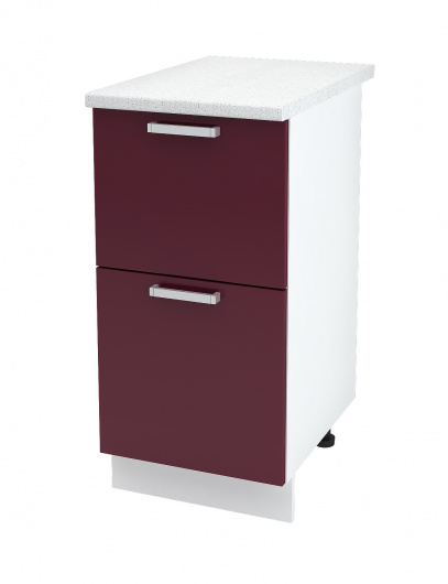 Шкаф нижний с двумя ящиками Линда ШН2Я 400