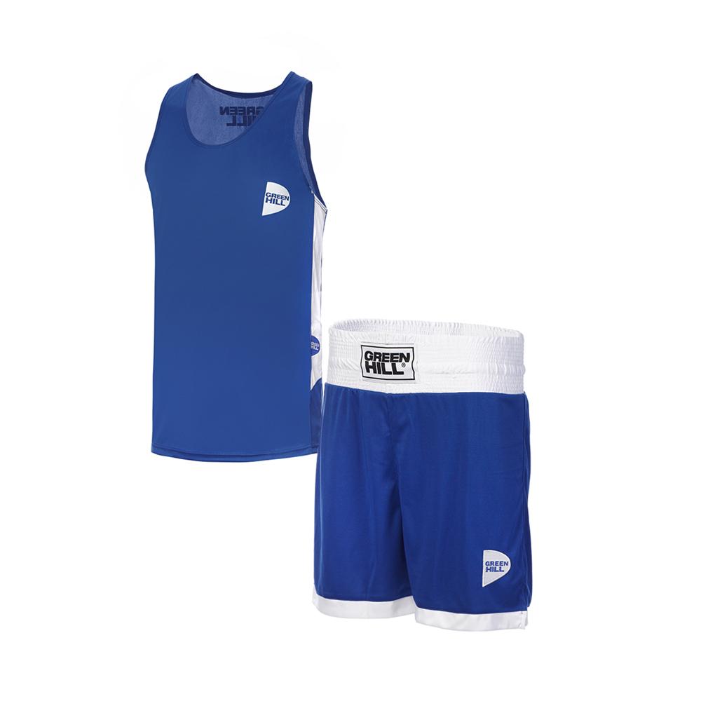 Форма боксёрская Green Hill INTERLOCK BSI-3805 синяя