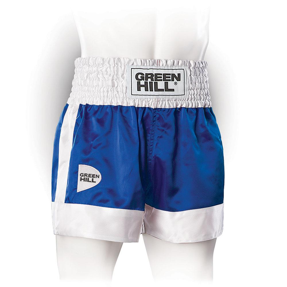 Трусы для кикбоксинга Green Hill FIGHTER KBSF-3746 синие