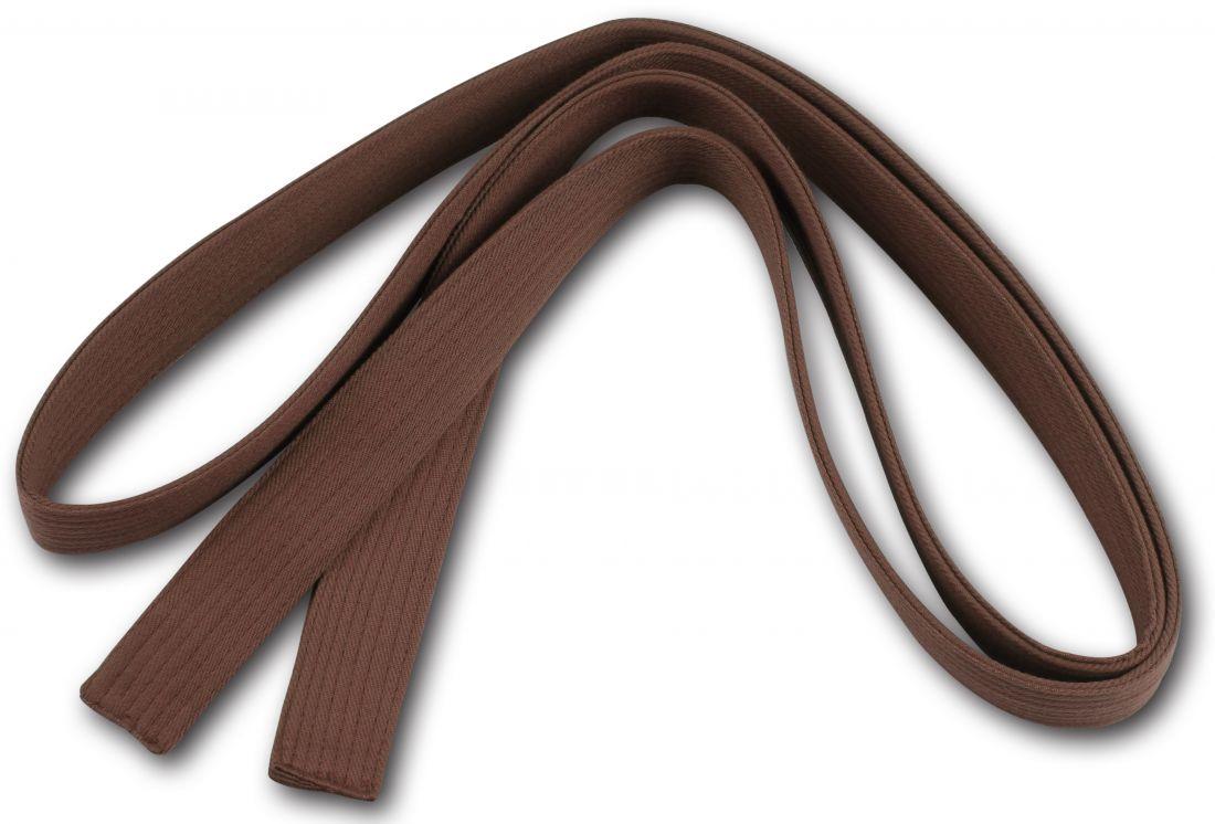Пояс для кимоно RA-009 2.6м коричневый