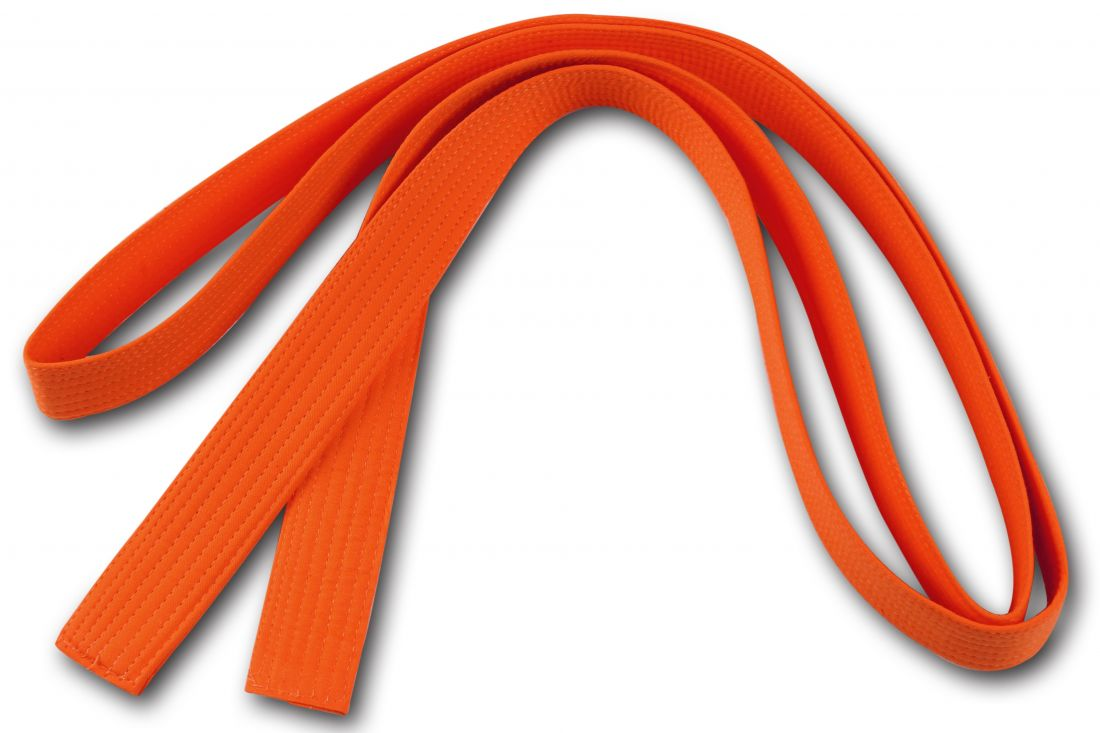 Пояс для кимоно RA-009 2.6м оранжевый