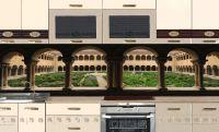 Фартук для кухни - Santo Domingo de Silos | интерьерные наклейки