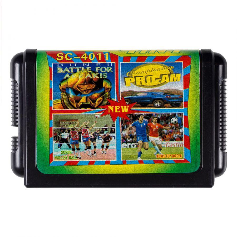 16 bit картридж 4 в 1 SC-4004