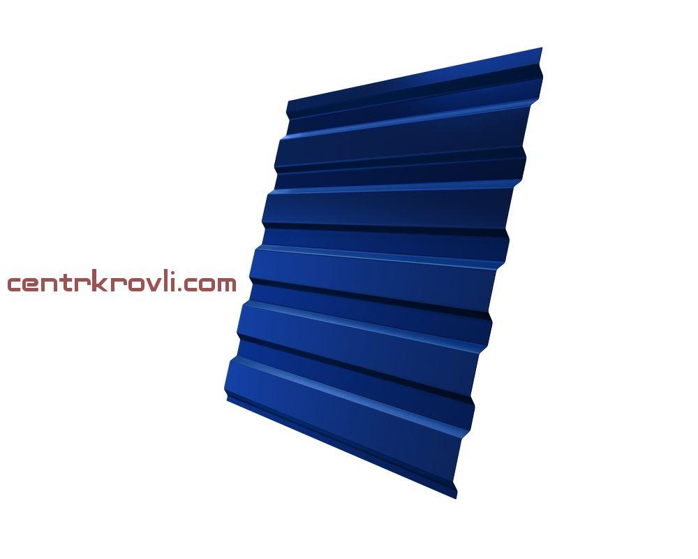Профнастил С20А 0,4 PE RAL 5005 сигнальный синий 2м