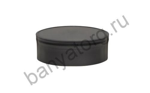 Заглушка BLACK глухая внутренняя (AISI 430/0,5мм)