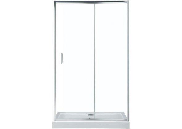 Душевая дверь Aquanet SD-1200A 120, прозрачное стекло