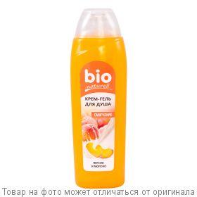 """BioNaturell Крем-гель для душа """"Персик и молоко"""" 500мл, шт"""