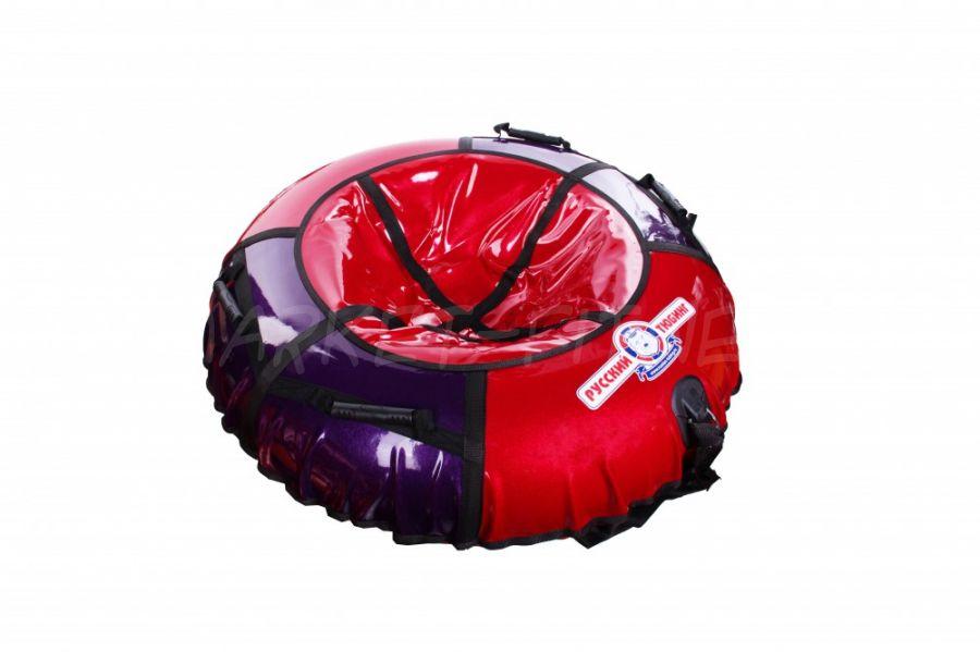 Тюбинг ватрушка L-85 красно-фиолетовый