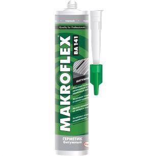 """Герметик битумный """"Makroflex"""" BA141 чёрный 290мл"""