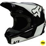Fox 2021 V1 Revn Black/White (MIPS) шлем внедорожный