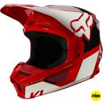 Fox 2021 V1 Revn Flame Red (MIPS) шлем внедорожный