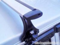 Багажник на крышу на Nissan Patrol 1998-2010, Delta, аэродинамические (крыловидные) дуги