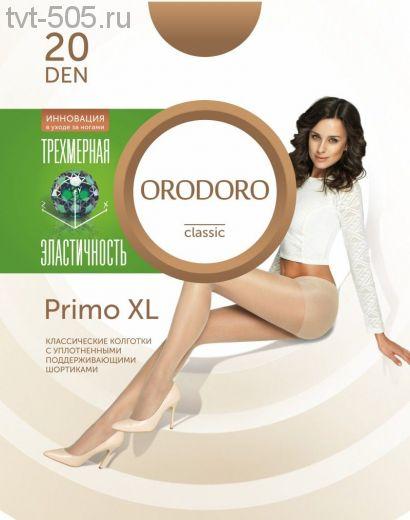 Колготки Orodoro 20d  Primo XL классические с уплотненными шортиками